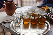 Moroccan mint tea, Marrakesh Medina, Morocco, 2016–04-16.