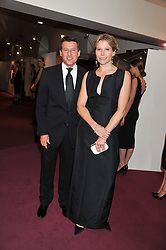 LORD & LADY COE at the GQ Men of The Year Awards 2012 held at The Royal Opera House, London on 4th September 2012.