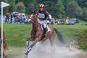 XANTHUS III ridden by Blyth Tait at Bramham International Horse Trials 2016 at  at Bramham Park, Bramham, United Kingdom on 11 June 2016. Photo by Mark P Doherty.