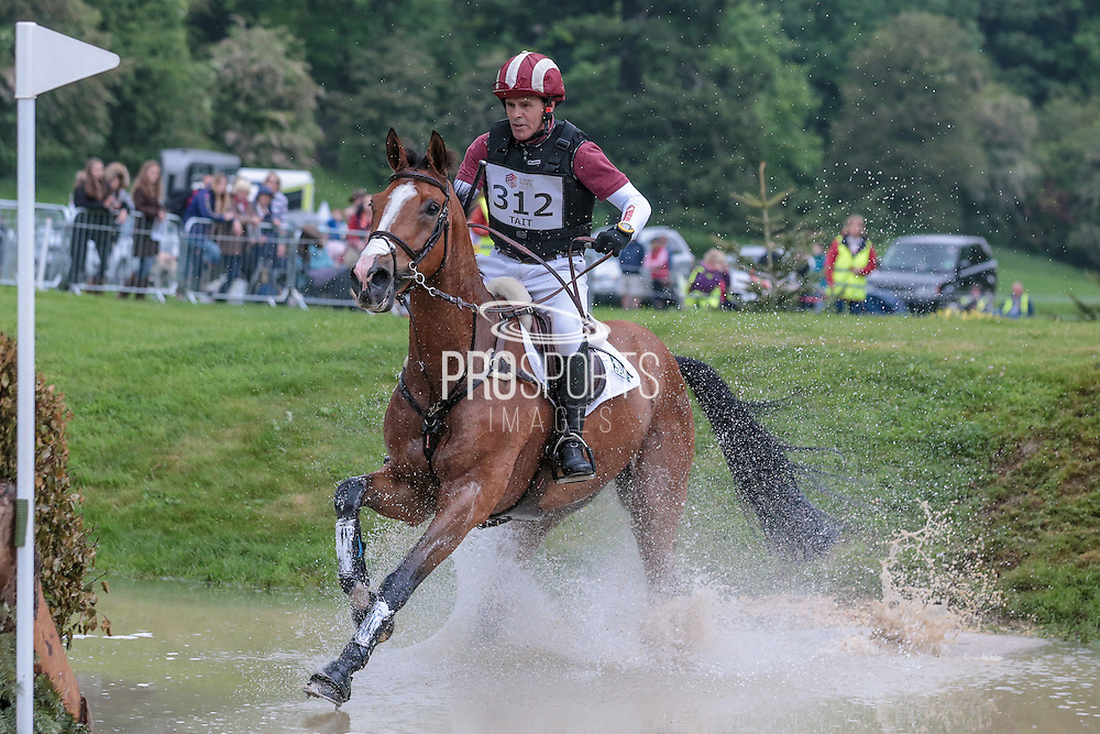 XANTHUS III ridden by Blyth Tait at Bramham International Horse Trials 2016 at  at Bramham Park, Bramham, United Kingdom on 11 June 2016. Photo by Mark P Doherty.