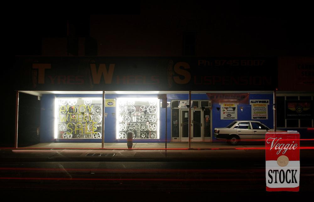 Parramatta Road, Sydney, Dec. 2007..credit: Megan Young.