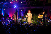 FLORENCE WELCH, An evening at Sanderson to celebrate 10 years of Sanderson, in aid of Clic Sargent. Sanderson Hotel. 50 Berners St. London. W1. 27 April 2010 *** Local Caption *** -DO NOT ARCHIVE-© Copyright Photograph by Dafydd Jones. 248 Clapham Rd. London SW9 0PZ. Tel 0207 820 0771. www.dafjones.com.<br /> FLORENCE WELCH, An evening at Sanderson to celebrate 10 years of Sanderson, in aid of Clic Sargent. Sanderson Hotel. 50 Berners St. London. W1. 27 April 2010