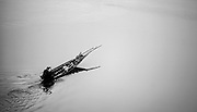 A fisherman on the Nam Ou, Laos.