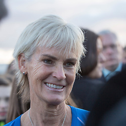 Judy Murray, Edinburgh 24/2/2016