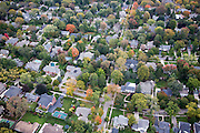 Upper Middle Class Tract Homes