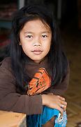 Laos - Nam Song  Monk Gifting