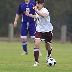 24 January 2009: St. Thomas Aquinas Senior Day soccer against Independence.