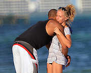 03.DECEMBER.2012. CANCUN<br /> <br /> KENDRA WILKINSON AND HER BOYFRIEND IN CANCUN. PLAYMATE KENDRA WILKINSON WITH HER BOYFRIEND HANK BASKETT ENJOY THE SUN IN CANCUN.<br /> <br /> BYLINE: EDBIMAGEARCHIVE.CO.UK<br /> <br /> *THIS IMAGE IS STRICTLY FOR UK NEWSPAPERS AND MAGAZINES ONLY*<br /> *FOR WORLD WIDE SALES AND WEB USE PLEASE CONTACT EDBIMAGEARCHIVE - 0208 954 5968*
