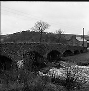 Views - Towns of Ireland - Main St. and Bridge, Laghey, Co. Donegal.15/03/1957
