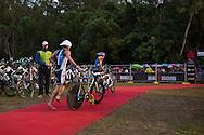 Clayton Fettell (AUS), June 8, 2014 - TRIATHLON : Ironman Cairns 70.3 / Cairns Airport Adventure Festival, Palm Cove - Captain Cook Highway - Cairns Esplanade, Cairns, Queensland, Australia. Credit: Lucas Wroe