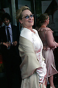 Meryl Streep posing before entering the 'The Devil Wears Prada' premiere at the AMC LOEWS in Lincoln Square, New York, USA, on Monday, June 20, 2006. She is part of the cast. **ITALY OUT**