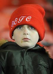 Bristol City fan - Photo mandatory by-line: Dougie Allward/JMP - Mobile: 07966 386802 - 17/02/2015 - SPORT - Football - Bristol - Ashton Gate - Bristol City v Peterborough United - Sky Bet League One