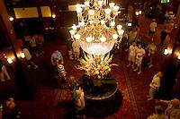 Chandelier in Main Lobby, Hotel del Coronado, Coronado Island, California