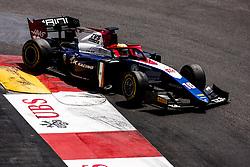 May 25, 2018 - Montecarlo, Monaco - 16 Arjun MAINI from India of TRIDENT RACING during the Monaco Formula Two race 1  at Monaco on 25th of May, 2018 in Montecarlo, Monaco. (Credit Image: © Xavier Bonilla/NurPhoto via ZUMA Press)