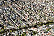 Nederland, Noord-Holland, Amsterdam, 09-04-2014;<br /> Binnenstad, De Jordaan met Prinsengracht en Lauriergracht (midden. Marnixstraat linksboven. Linksonder de Elandsstraat.<br /> Center and ring of canals of Amsterdam. Residential district Jordaan.<br /> luchtfoto (toeslag op standard tarieven);<br /> aerial photo (additional fee required);<br /> copyright foto/photo Siebe Swart