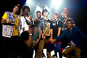 Illtribe with the open jam contest winners during Red Bull BC One Houston TX May 17, 2019
