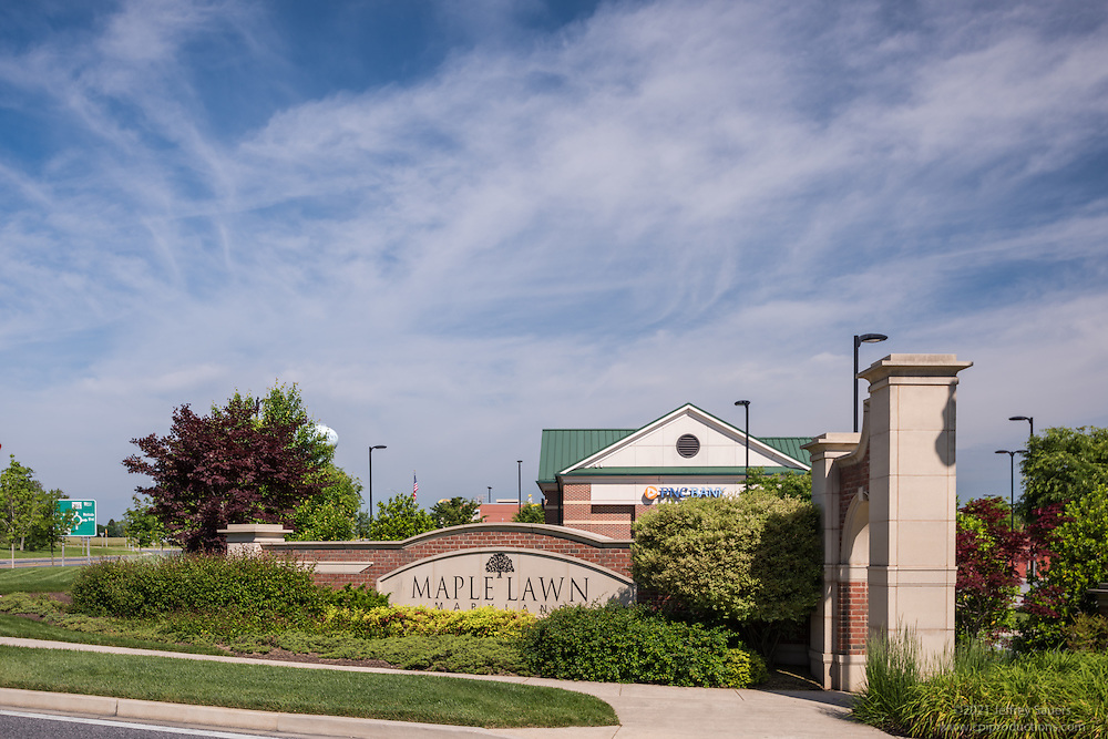 Architectural image of Maple Lawn Corporate Center in Maryland by Jeffrey Sauers of Commercial Photographics, Architectural Photo Artistry in Washington DC, Virginia to Florida and PA to New England