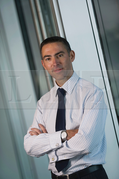 © Ben Cawthra. 20/10/2011. London, UK.  Ernst & Young employee John Marsh, who moved from working in the public sector for The Home Office to the private sector. Pictured here at the Ernst & Young offices in London.  Photo credit: Ben Cawthra/LNP