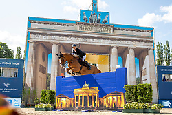 DEVOS, Pieter (BEL), Apart<br /> Berlin - Global Jumping Berlin 2019<br /> CSI5* - LONGINES GLOBAL CHAMPIONS TOUR Grand Prix of Berlin<br /> presented by TENNOR<br /> Wertungsprüfung zur Longines Global Champions Tour 2019 <br /> Springprüfung mit Stechen, international<br /> 27. Juli 2019<br /> © www.sportfotos-lafrentz.de/Stefan Lafrentz