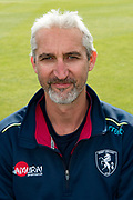 Jason Gillespie (Interim Assistant Coach) of Kent  during the Kent County Cricket Club Headshots 2017 Press Day at the Spitfire Ground, Canterbury, United Kingdom on 31 March 2017. Photo by Martin Cole.