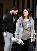 02.DECEMBER.2012. BARCELONA<br /> <br /> CESC FABREGAS AND GIRLFRIEND MOVE INTO THE PIQUE AND SHAKIRA'S FORMER HOUSE. BARCELONA FOOTBALLER CESC FABREGAS AND HIS GIRLFRIEND DANIELLA SEMAANMOVE MOVE INTO THE HOUSE LEFT BY SHAKIRA AND PIQUE IN BARCELONA. A FEW WEEKS AGO THE COUPLE ANNOUNCED THEY WERE EXPECTING THEIR FIRST CHILD TOGETHER. THE COUPLE ARE PREPARING A NEW HOME FOR THE FAMILY, WHICH ALSO INCLUDES THE CHILDREN THAT DANIELLA HAS FROM A PREVIOUS RELATIONSHIP. <br /> <br /> BYLINE: EDBIMAGEARCHIVE.CO.UK<br /> <br /> *THIS IMAGE IS STRICTLY FOR UK NEWSPAPERS AND MAGAZINES ONLY*<br /> *FOR WORLD WIDE SALES AND WEB USE PLEASE CONTACT EDBIMAGEARCHIVE - 0208 954 5968*
