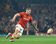 Ross Moriarty of Wales<br /> <br /> Photographer Simon King/Replay Images<br /> <br /> Under Armour Series - Wales v South Africa - Saturday 24th November 2018 - Principality Stadium - Cardiff<br /> <br /> World Copyright © Replay Images . All rights reserved. info@replayimages.co.uk - http://replayimages.co.uk
