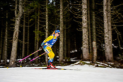Mona Brorsson (SWE) during Women 15km Individual at day 5 of IBU Biathlon World Cup 2018/19 Pokljuka, on December 6, 2018 in Rudno polje, Pokljuka, Pokljuka, Slovenia. Photo by Ziga Zupan / Sportida