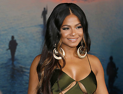 Christina Milian at the Los Angeles premiere of 'Kong: Skull Island' held at the El Capitan Theatre in Hollywood, USA on March 8, 2017.