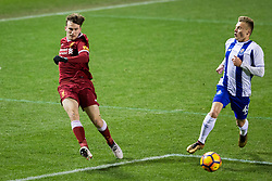 LEIGH, ENGLAND - Wednesday, February 28, 2018: Liverpool's Liam Millar during the Under-23 FA Premier League International Cup Quarter-Final match between Liverpool and FC Porto at Leigh Sports Village. (Pic by Paul Greenwood/Propaganda)