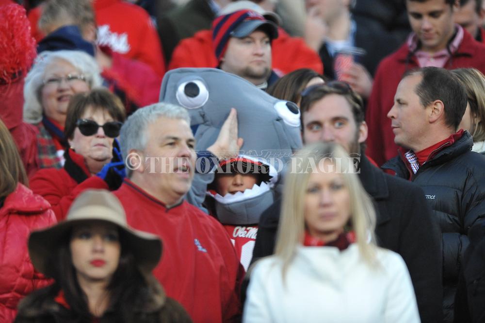 Ole Miss vs. Auburn at Vaught-Hemingway Stadium in Oxford, Miss. on Saturday, November 1, 2014. (AP Photo/Oxford Eagle, Bruce Newman)