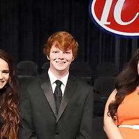 CHICKASAW COUNTY TRIO HONORED AT ICC<br /> (Courtesy Photo)<br /> Chickasaw County recipients of awards during Itawamba Community College&rsquo;s honors ceremony include, from left, Hannah Welch of Woodland, Health, Physical Education and Recreation; Adrian Harrison of Houston, Computer Science Division; and Stephanie Hernandez of Houston, Interpreter Training Technology. ICC&rsquo;s top scholars were recognized during &quot;An Evening of Celebration: Honoring Academic Excellence Across the Curriculum&quot; on Tuesday, April 19, 2016.