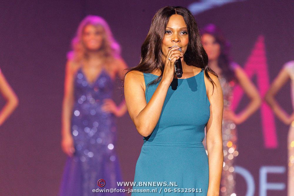 NLD/Hilversum/20150907 - Miss Nederland 2015 verkiezing, Carolina Dijkhuizen