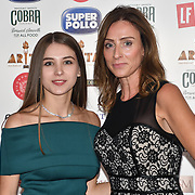 Cristina Igant and Michelle Watts attend Asian Restaurant & Takeaway Awards | ARTA 2018 at InterContinental London - The O2, London, UK. 30 September 2018.