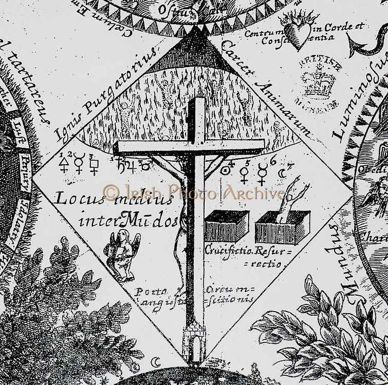 Manfred Brod, 'A Radical Network in the English Revolution: John Pordage and his Circle, 1646-54'  Mundorum explicatio, or, The explanation of an hieroglyphical figure wherein are couched the mysteries of the external, internal, and eternal worlds, showing the true progress of a soul from the court of Babylon to the city of Jerusalem, from the Adamical fallen state to the regenerate and angelical