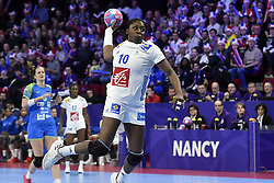 France player Grace Zaadi during the Women's european handball chanmpionship preliminary round, Slovenia vs France. Nancy, Fance -02/12/2018//POLEMILE_01POL20181202NAN010/Credit:POL EMILE / SIPA/SIPA/1812021731