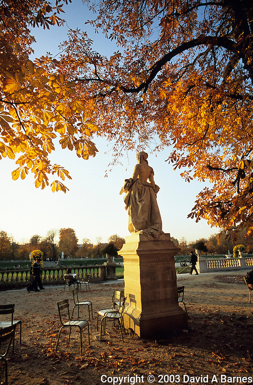Luxembourg Garden (Jardin du Luxembourg), Paris, France