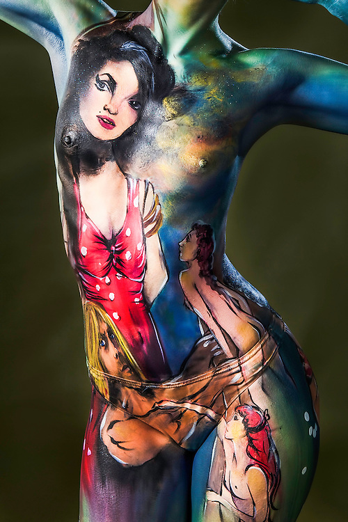 Competitiors in the Melbourne Body Art Competition at Carlton Brewhouse in Abbotsford..Pic By Craig Sillitoe CSZ/The Sunday Age..20/08/2011. This photograph can be used for non commercial uses with attribution. Credit: Craig Sillitoe Photography / http://www.csillitoe.com<br />