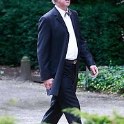 NLD/Amsterdam/20110729 - Uitvaart actrice Ina van Faassen, Eric Brey