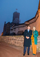 7-2-2017 - Eisenach <br />  - King Willem-Alexander and Maxima visit the Wartburg castle . King Willem-Alexander and Maxima will visit from Tuesday 7 to Friday, February 10th, 2017 a working visit to the German states of Thuringia Th&uuml;ringen, Saxony and Saxony-Anhalt  Saksen en Saksen-Anhalt. Copyright ROBIN UTRECHT<br /> Themadiner over de Reformatie <br /> 7-2-2017 - Eisenach <br />   - King Willem-Alexander and Maxima during a Theme Dinner on the Reformation. King Willem-Alexander and Maxima will visit from Tuesday 7 to Friday, February 10th, 2017 a working visit to the German states of Thuringia Th&uuml;ringen, Saxony and Saxony-Anhalt  Saksen en Saksen-Anhalt. Copyright ROBIN UTRECHT