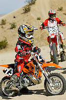 Young Motocross Racer