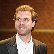 NLD/Amsterdam/20160210 - gasten arriveren bij Correspondents' Dinner 2016, Rutger Castricum
