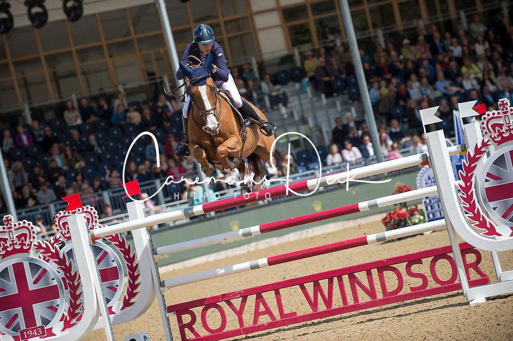 Mendoza Jessica, GBR, Toy Boy<br /> Rolex Grand Prix Jumping<br /> Royal Windsor Horse Show<br /> &copy; Hippo Foto - Jon Stroud