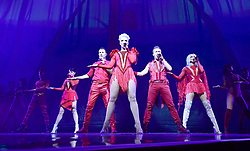 (Left to right) Lisa Scott-Lee, Lee Latchford-Evans, Claire Richards, Ian H Watkins and Faye Tozer of Steps performing at the O2 Arena in London.