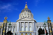 Image of the City Hall of San Francisco, California, America west coast