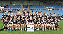 Sligo Ladies Gaa at the Connacht Intermediate final at McHale Park, Castlebar on sunday last. <br /> Pic Conor McKeown