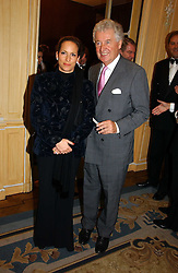 PRINCESS ZARA AGA KHAN and LORD DONOUGHUE at the Cartier Racing Awards 2006 held at the Four Seasons Hotel, Hamilton Place, London on 15th November 2006.<br />