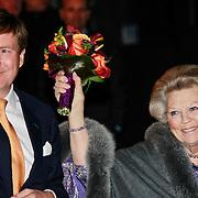 NLD/Utrecht/20130411 - Oranjes bij 300 jaar Vrede van Utrecht, konining Beatrix