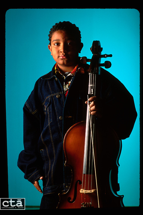 For two years, Justin Johnson, 13, has traveled from his home in Hammond,<br /> Ind., for weekly cello lessons at the Sherwood Conservatory of Music in downtown Chicago.