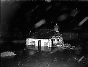 Flooding at North Strand and Drumcondra, Dublin.8-12/12/1954