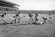 Neg No:.598/8141-8144...1954AIJHCF2...12.09.1954...All Ireland Junior Hurling Championship - Home Final..Limerick.3-5.Antrim.1-8..
